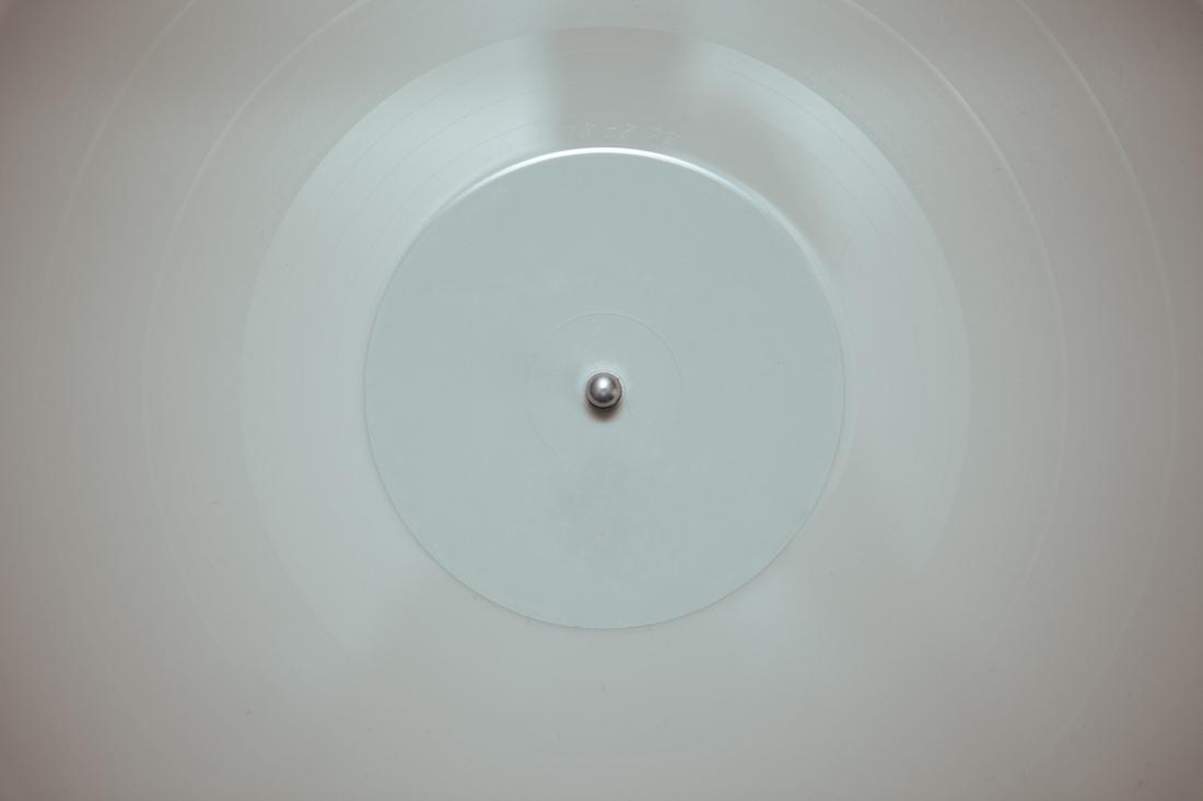 White Vinyl Record
