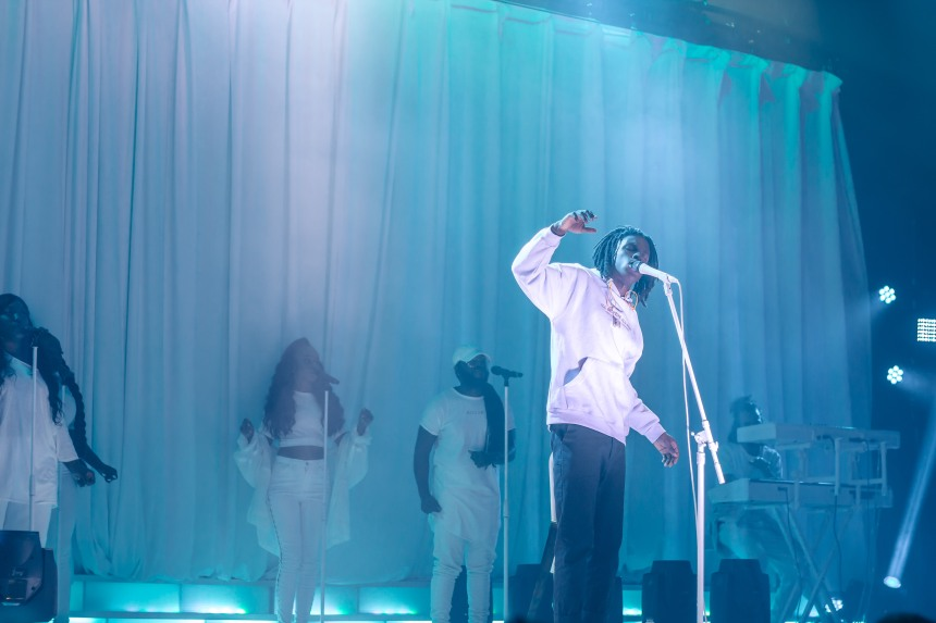 Daniel Caesar and Cadaro Tribe at Danforth Music Hall taken by Ziyaad Haniff