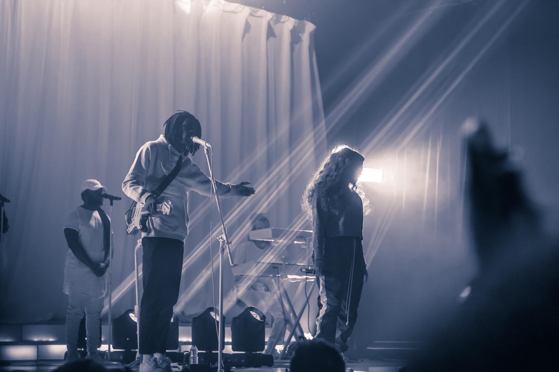 Daniel Caesar and H.E.R at Danforth Music Hall taken by Ziyaad Haniff