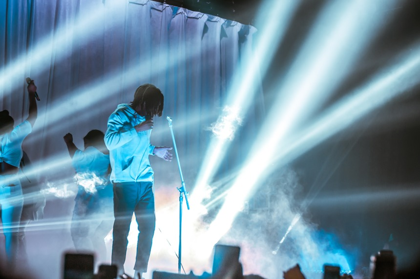 Daniel Caesar at Danforth Music Hall taken by Ziyaad Haniff