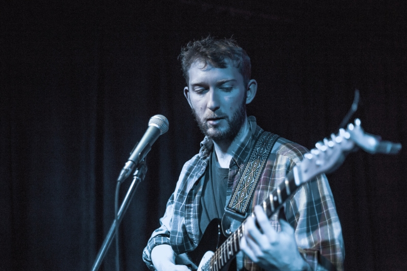 Young Clancy performing at the Burdock. Taken by Ziyaad Haniff.