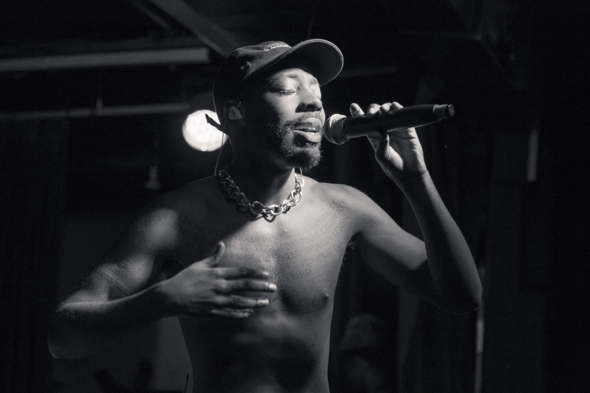 Brent Faiyaz Performing on the Sonder Son Tour. Taken by: Ziyaad Haniff